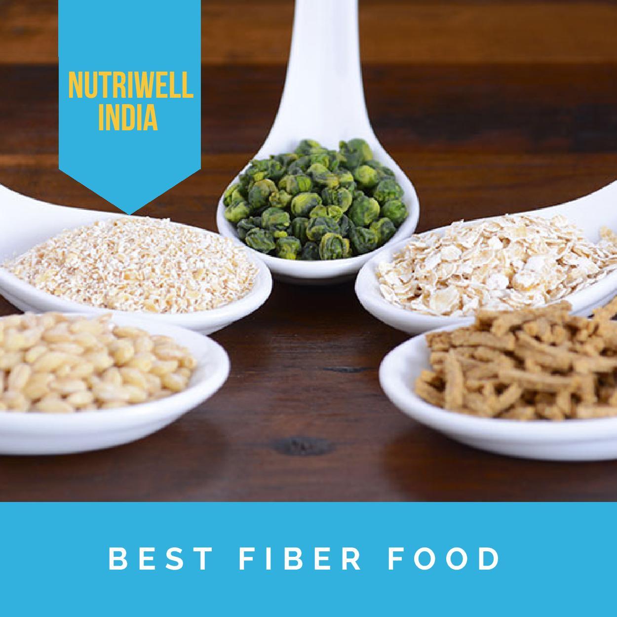 nutriwell guide best fiber food