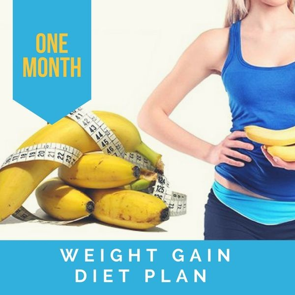 natural tips for weight gain