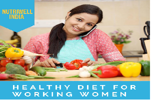 healthy diet for working women