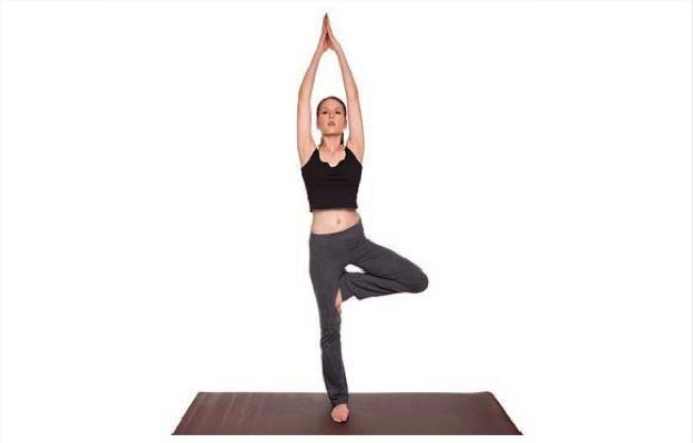 Image result for Vrikshasana