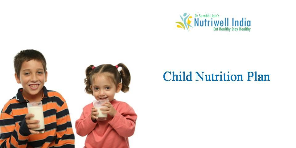 Child Nutrition Plan - By best diet expert in lucknow