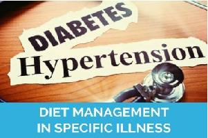 diet management in specific illness