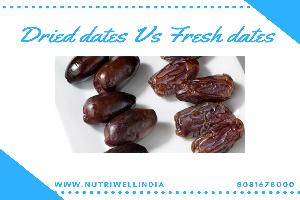 dried dates vs fresh dates