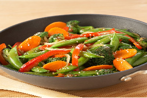 crunchy vegetable stir fry