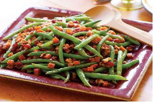 steam beats and beans sabzi