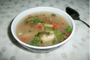 clear chicken soup