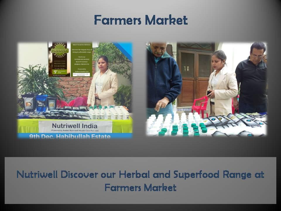 farmers' market lucknow