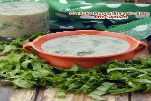 spinach sprout soup