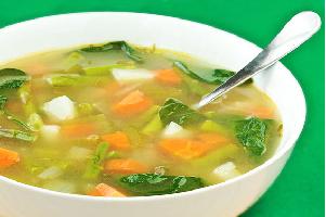 zero oil soup