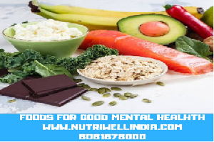 Foods for good mental health