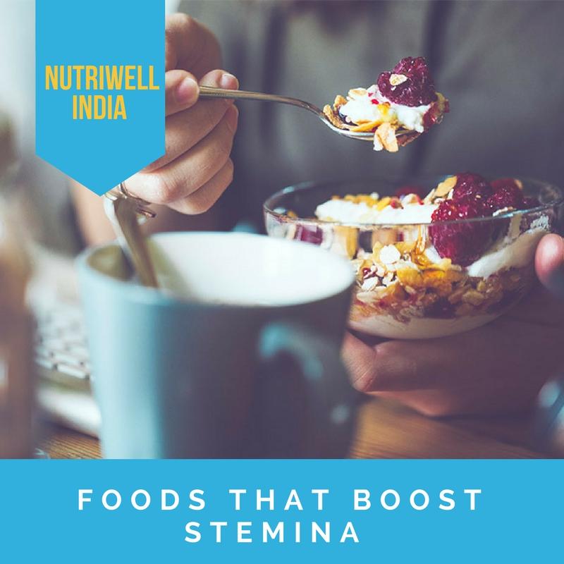 stamina boosting foods