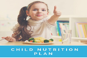 child nutrition plan