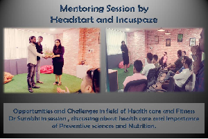 mentoring session by headstart