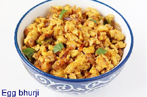 oil free egg bhurji