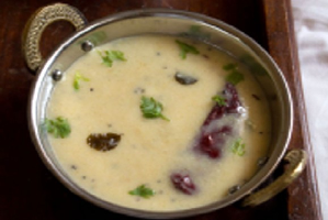 kerala brown rice kadhi