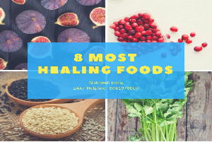 most healing foods