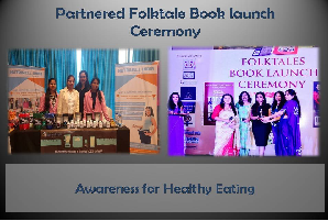 folktale book launch ceremony