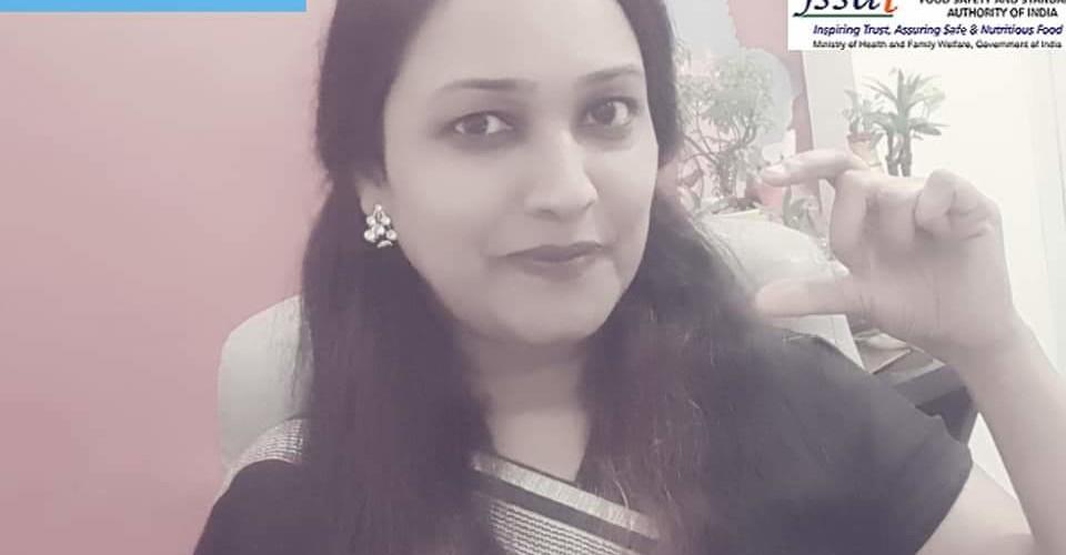 Dr SUrabhi Jain live for Doordarshan