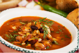 vegetable and beans soup